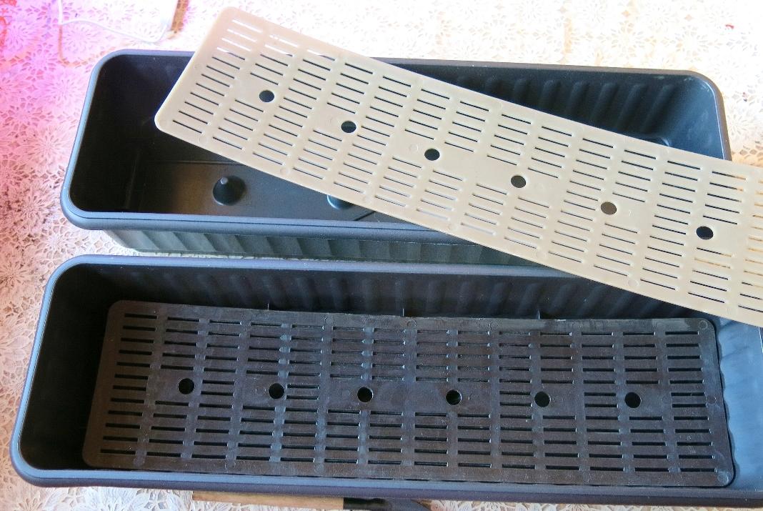 Рассадные ящики с дренажной решёткой