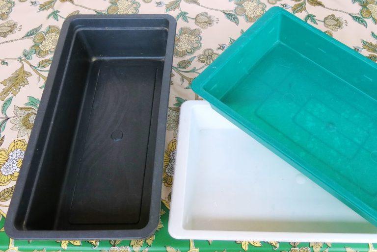 Пластиковый ящик для рассады 60